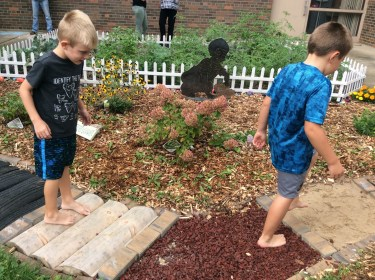 Sensory Garden at Luther Elementary School