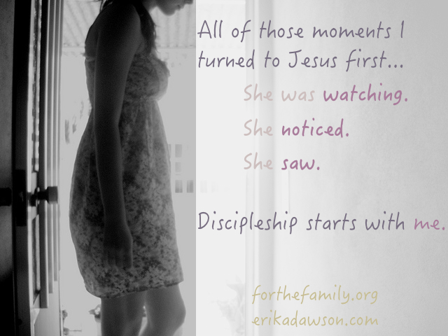Discipleship Starts with Me
