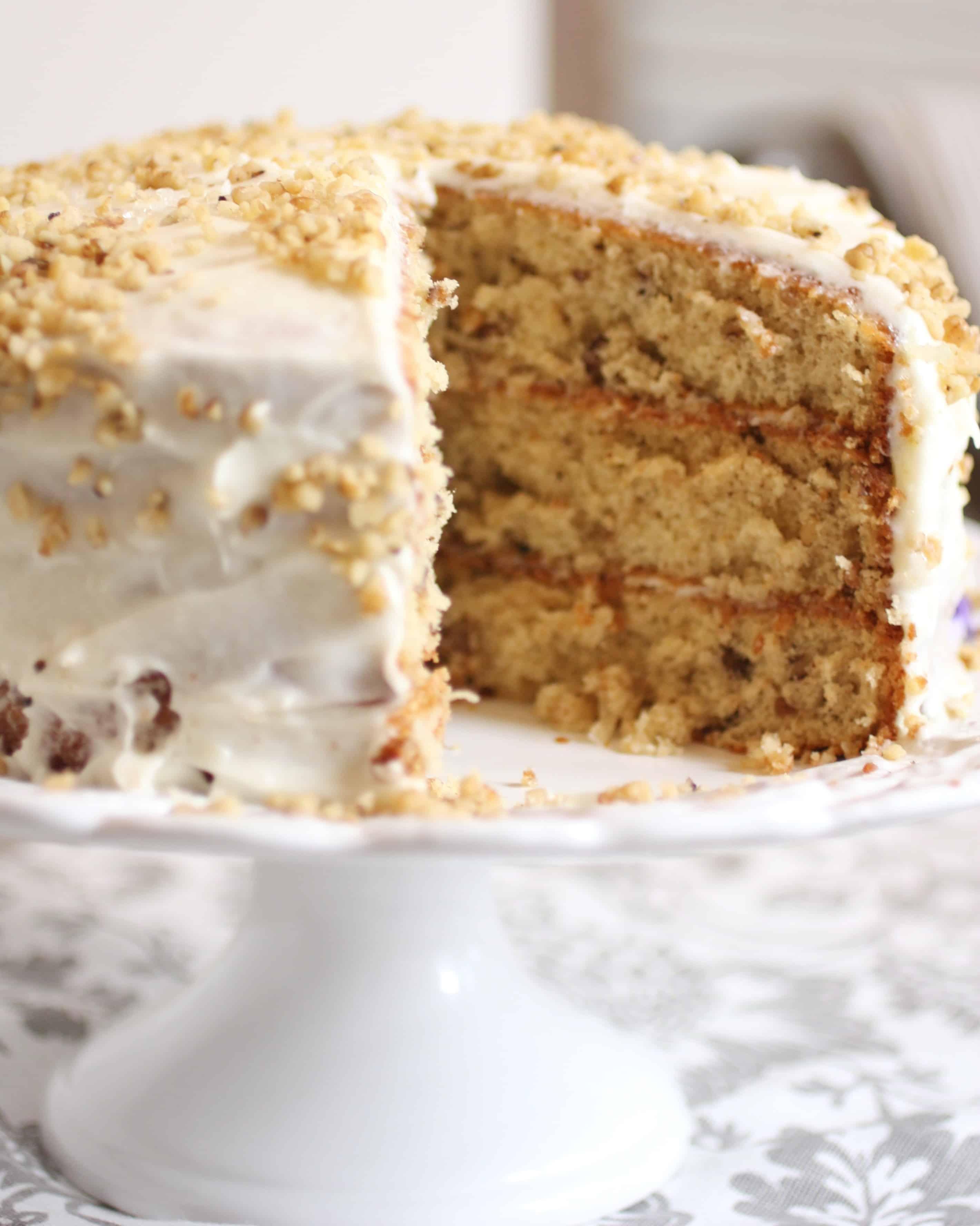 Authentic Italian Cream Cake For The Feast