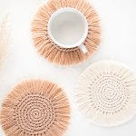 Beginner Boho Coasters Free Pattern Video Tutorial For The Frills