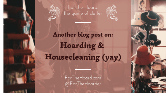 Another Blog Post on Hoarding ~ ForTheHoard.com