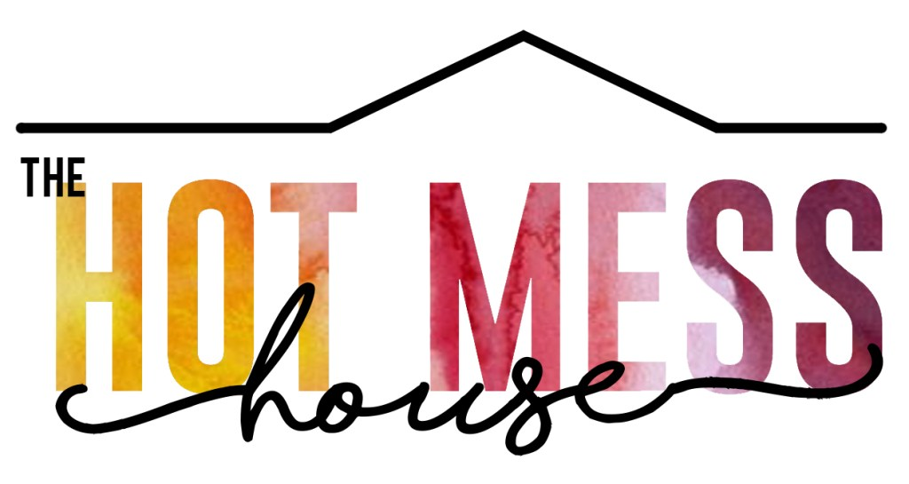 the hot mess house logo