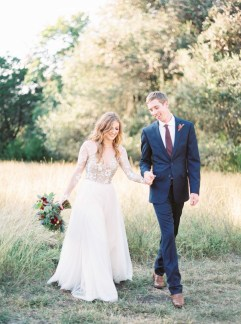 Wedding Photo of Zach and Bailey, home design bloggers