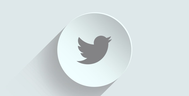 twitter logo on a white background