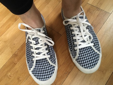 SeaVees Monterey Houndstooth Lace-Up Sneakers | Stitch Fix
