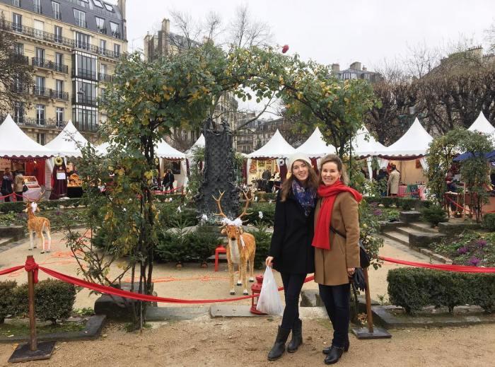 Marchés de Noël à Paris