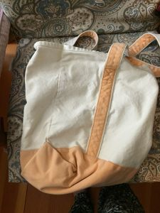 This bag is clean, right?