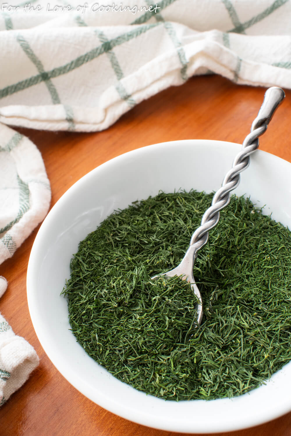 How to Dry Fresh Dill   For the Love of Cooking