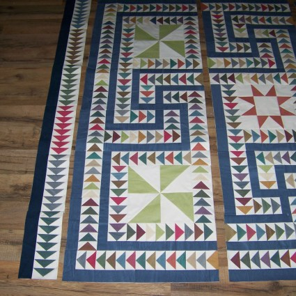 paper piecing, flying geese, mosaic quilt, foundation piecing,