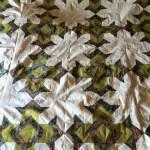 God's eye paper pieced quilt