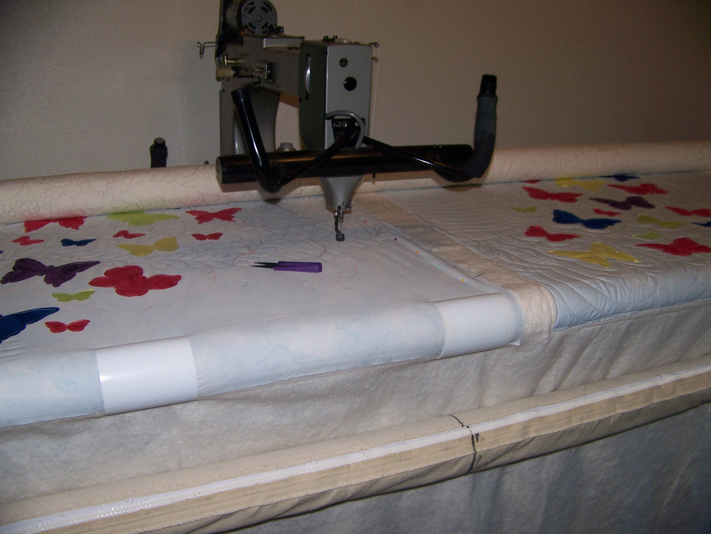 Butterfly applique quilt block pattern pug puppy pdf applique