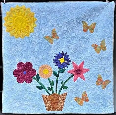 dreseden applique flowers quilt