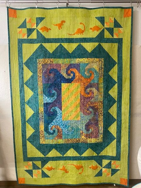 dino quilting