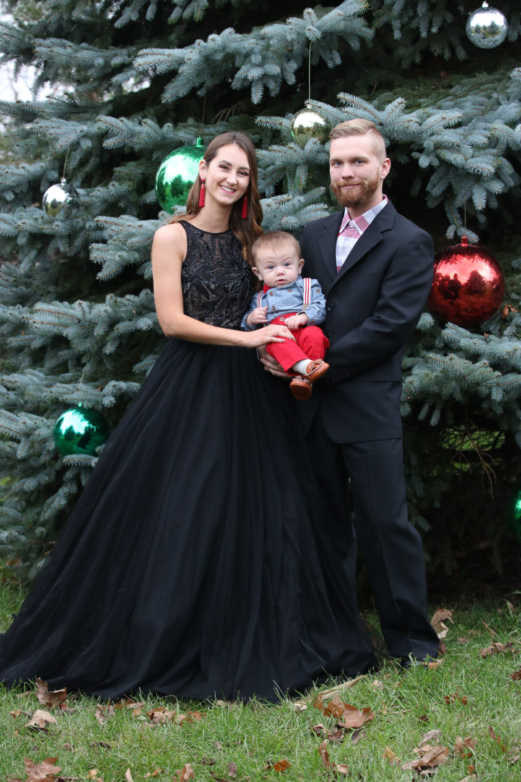 Formal Family Christmas Pictures : formal, family, christmas, pictures, Family, Christmas, Basic, Invite, Glitter