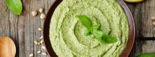 Basil Hummus Recipe