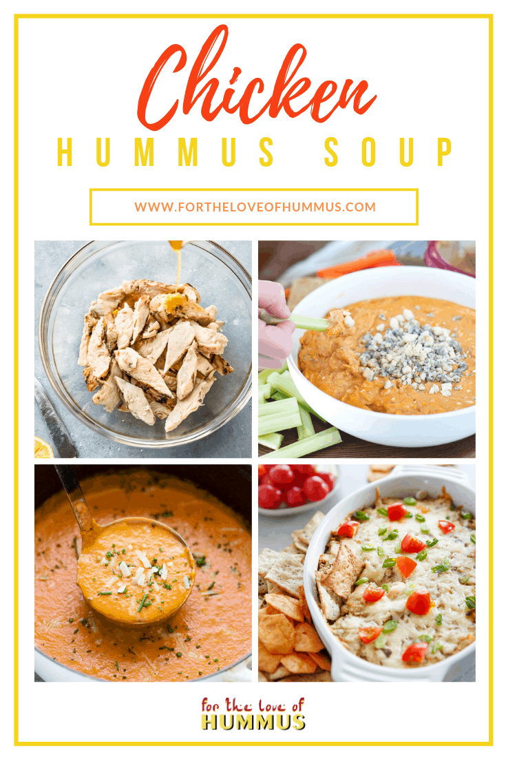 Chicken Hummus Soup Recipe