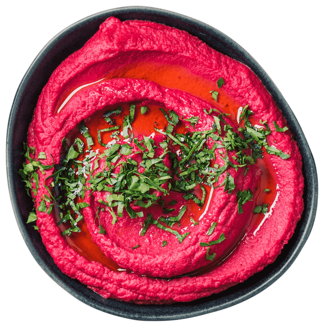 Beetroot Hummus - for the love of hummus main
