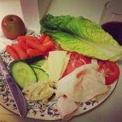Fixings for lettuce wraps