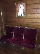 The Mission - quirky vintage cinema seating
