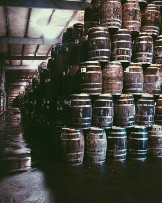 Barrels of Tabasco Sauce | for the love of the south
