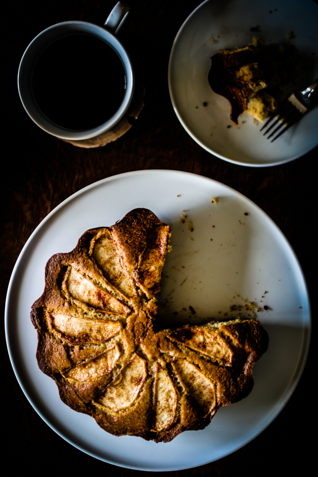 Spiced Apple Coffee Cake   for the love of the south