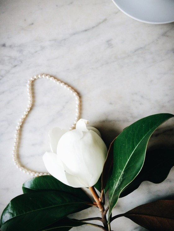 Magnolias + Pearls | for the love of the south