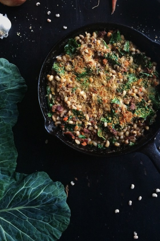 Black-Eyed Pea Cassoulet | for the love of the south