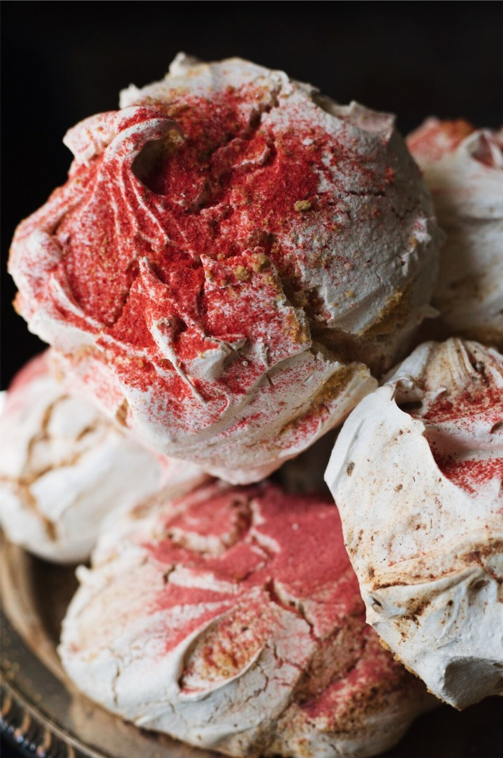 Strawberry Shortcake Meringues | for the love of the south