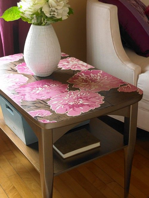 Table top transformation, wallpaper