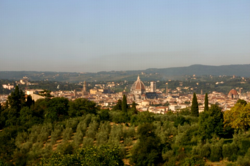 The View of Florence from my room