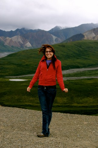 Me at Denali National Park