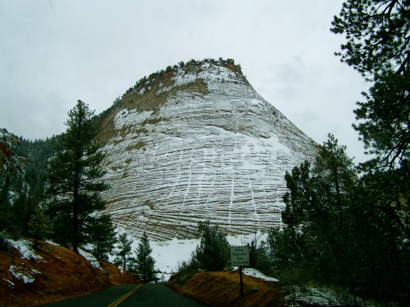 The Checkerboard in Zion NP