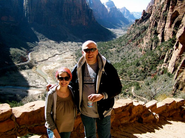 Going Up to Angel's Landing- Pre Walter's Wiggles