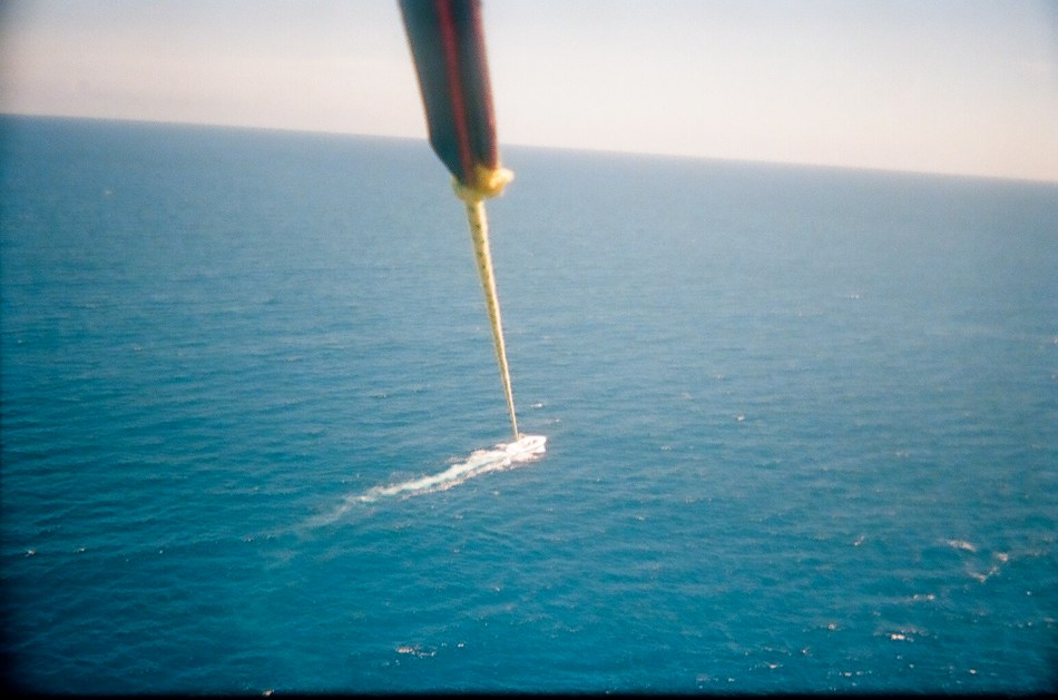 Parasailing... It's further up then you think
