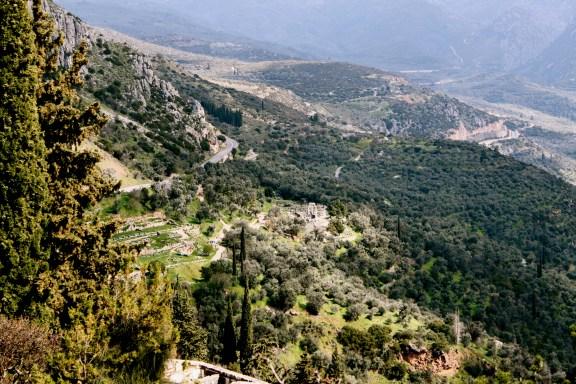 Valley, Gymnasium and Sanctuary of Apollo