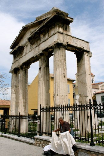 Ruins From an Ancient Roman Forum