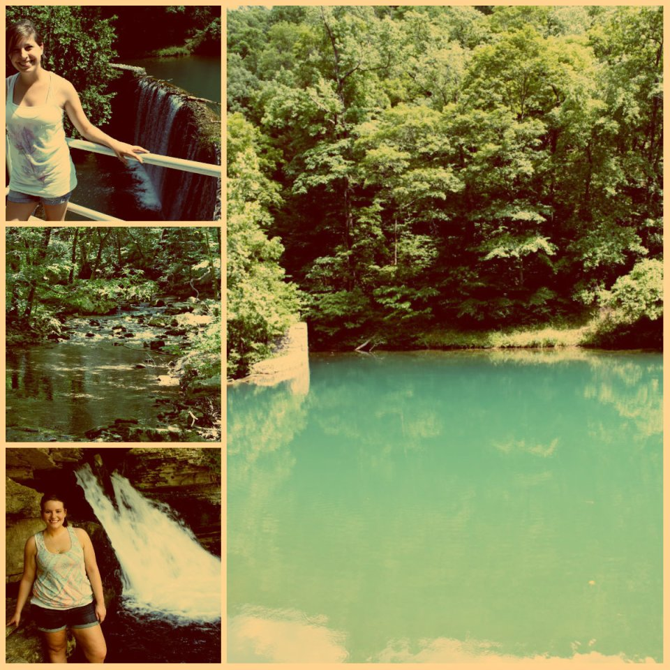 Blanchard Springs collage