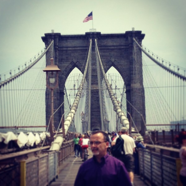 York City- World Trade Center Brooklyn Bridge