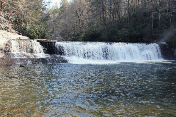Hooker Falls - Western North Carolina Waterfalls