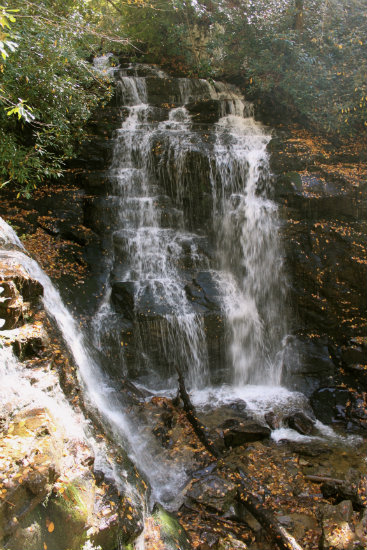 Solo Falls - Western North Carolina Waterfalls