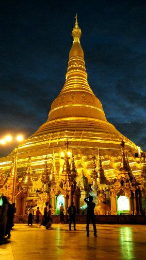 Sonal - Shwedagon Pagoda