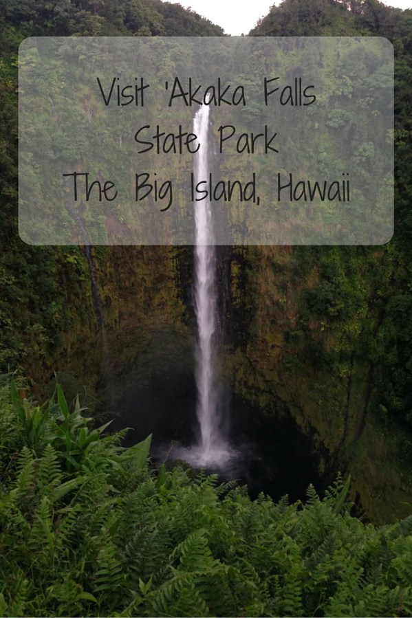 Visit 'Akaka Falls
