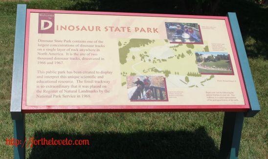 Dinosaur State Park 1