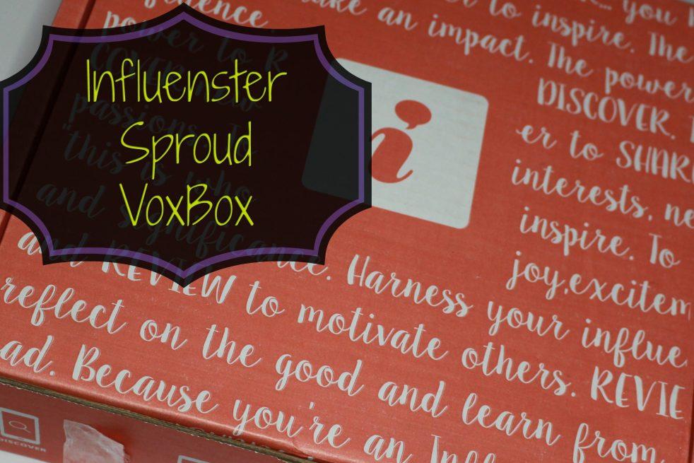 Influenster Sproud VoxBox Unboxing
