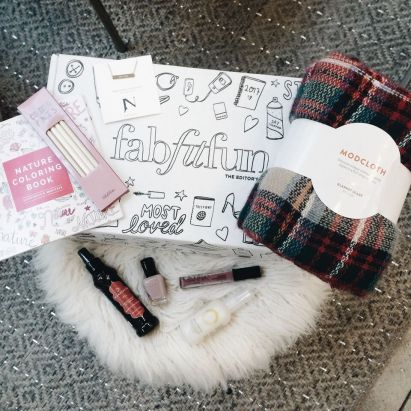 FabFitFun Subscription Box / #MommyFun