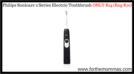 Philips Sonicare 2 Series Electric Toothbrush ONLY $24