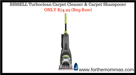 BISSELL Turboclean Carpet Cleaner & Carpet Shampooer ONLY