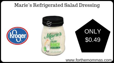 Kroger Mega Sale Maries Refrigerated Salad Dressing ONLY