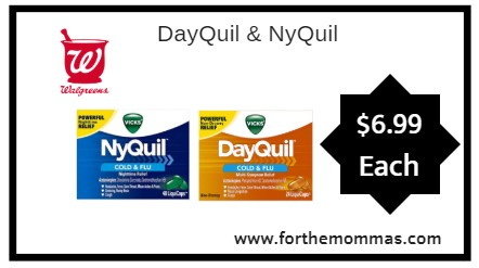 walgreens dayquil nyquil only