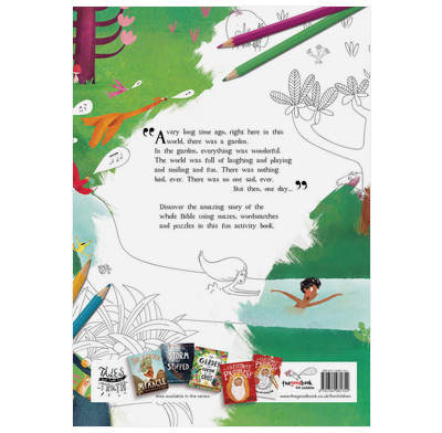 The Garden the Curtain the Cross Coloring Activity Book 1